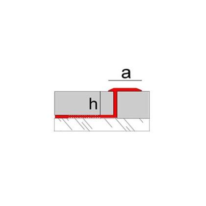 H=10, 12, 15, 20 mm / A=12.5 mm