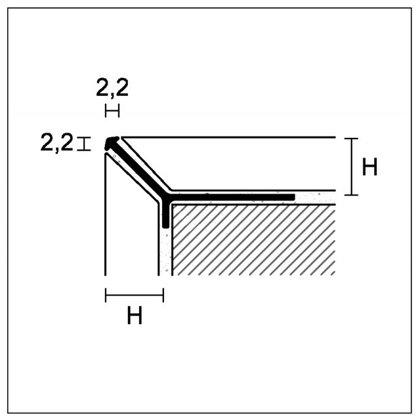 H = 4,5/8/11/15