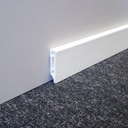 Grīdlīstes PVC Line 8612