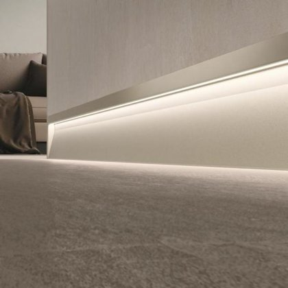 LED grīdlīstes Metal Line SXL