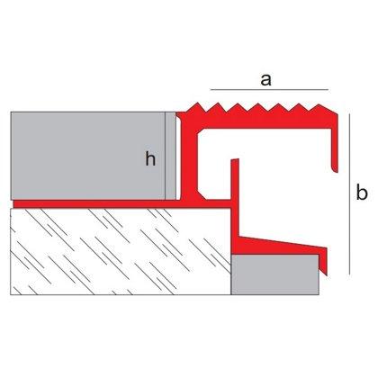 h=10/12mm a=22mm b=22.5mm